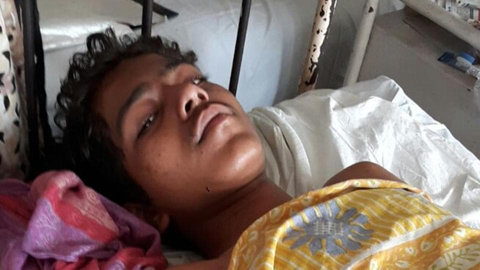 The parents of Akash Parab,18, who fractured his left leg in the mishap, had hidden the news of his 11-year-old brother Rohit's death from him