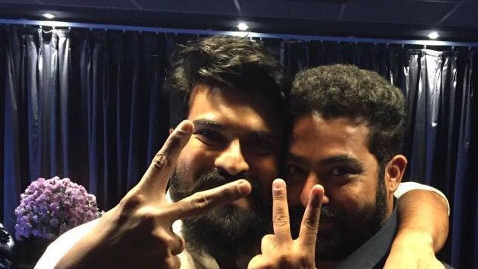 Jr NTR received some love from actor Ram Charan, who watched Jai Lava Kusa recently.