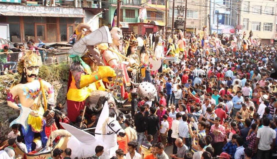 Almora is the only town in the country where 33 effigies of the family members of Ravana are burnt on Dussehra.