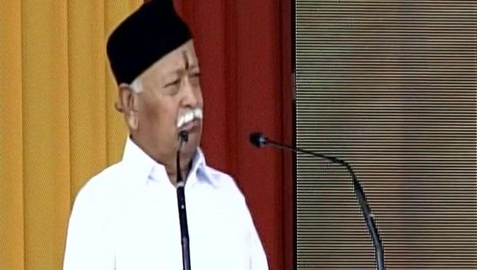 Rohingya Muslims a 'Threat to National Security', Says RSS Chief Mohan Bhagwat