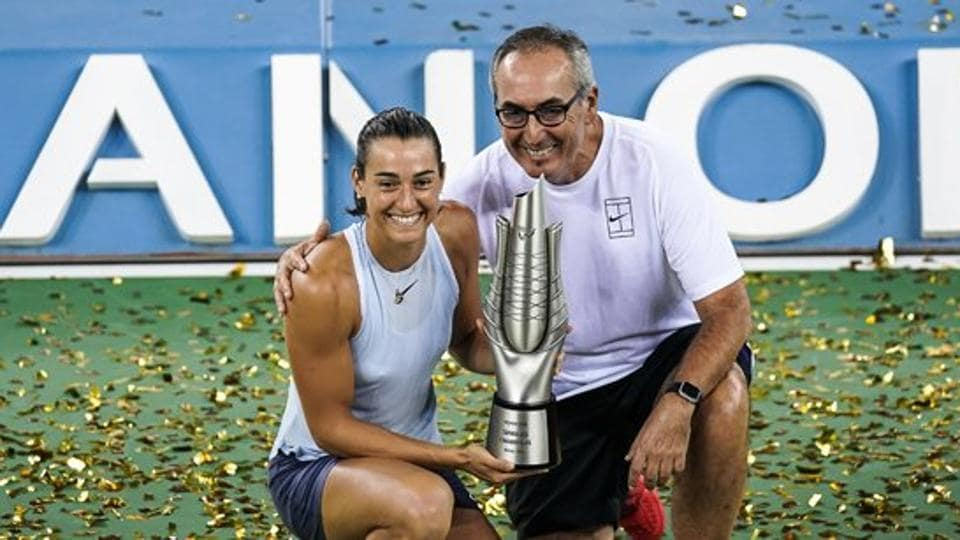 Caroline Garcia defeated Ashleigh Barty 6-7 (3-7), 7-6 (7-4), 6-2 to claim her first Wuhan Open title.