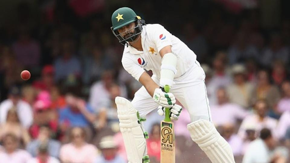 Azhar Ali scored a fifty as Pakistan, replying to Sri Lanka's first innings total of 419, reached 266/4 on the third day of the first Test in Abu Dhabi on Saturday.