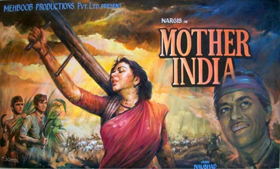 Mother India was India's first submission to Oscars in 1957.