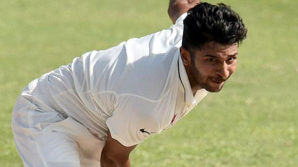 Shardul Thakur picked three wickets to help India A restrict New Zealand A to 211  in their opening innings.