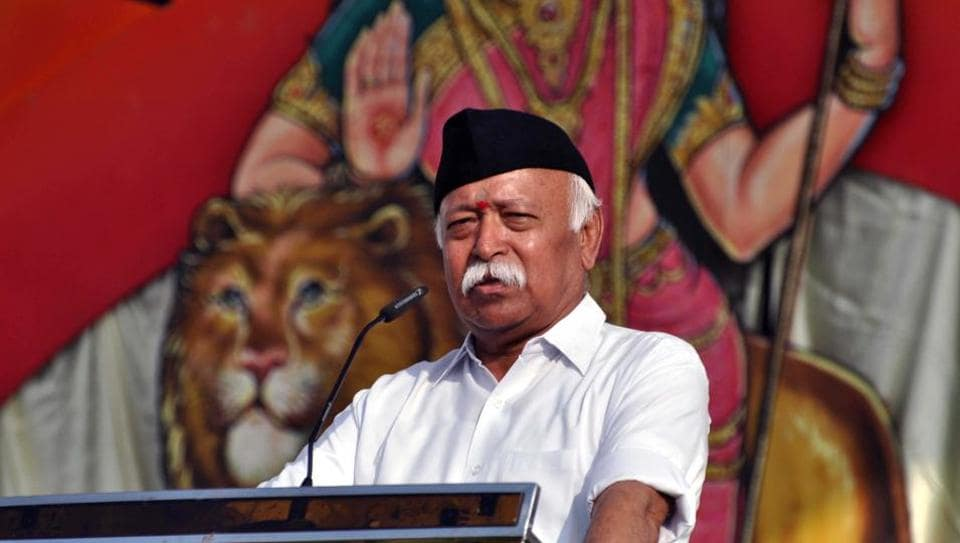 Rohingya have Jihadi links: RSS chief in Dussehra address