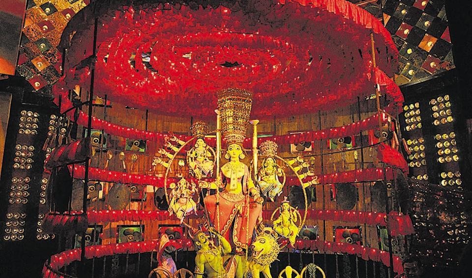 Astra puja,Durga puja RSS activities,BJP in Bengal