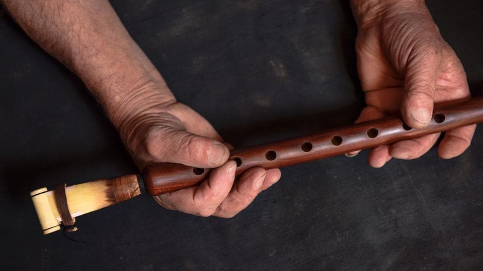 A music teacher distributed a flute-like instrument during a music lesson, and allegedly contaminated some of them instruments with semen. (Shutterstock)