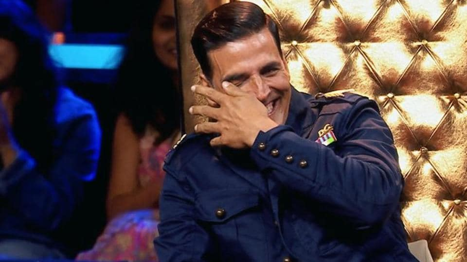 Akshay Kumar,Akshay Kumar TV,The Great Indian Laughter Challenge