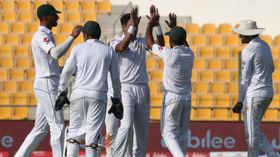 Pakistan picked up as many as four Sri Lankan wickets on the fourth day of the first Test at the Sheikh Zayed Stadium in Abu Dhabi on Sunday. Get full cricket score of Pakistan vs Sri Lanka, 1st Test, Day 4, here.