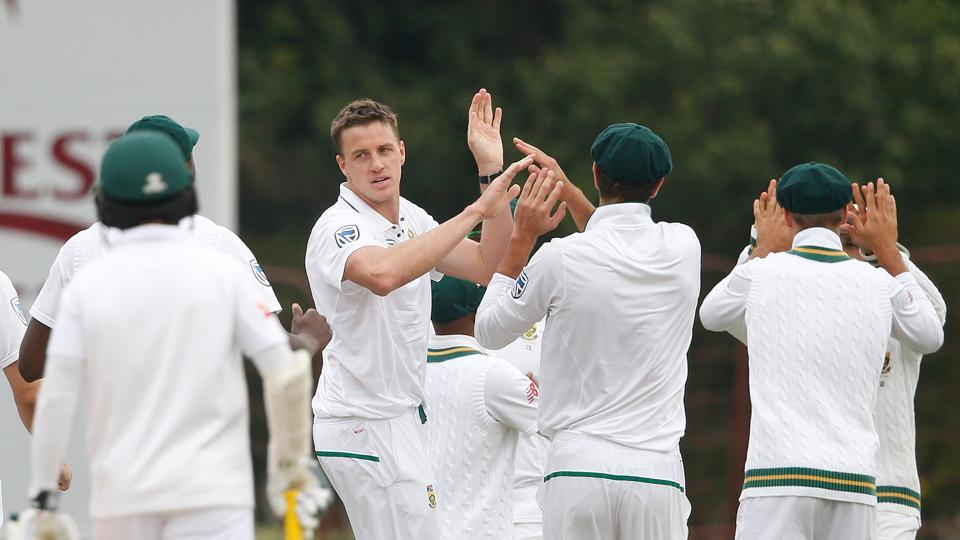 Morne Morkel struck twice in the first over of Bangladesh's chase. Catch full cricket score and updates of South Africa vs Bangladesh, 1st Test, Day 4, here.