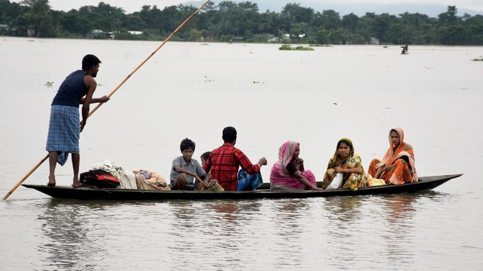 Assam floods,Assam districts,Assam State Disaster Management Authority