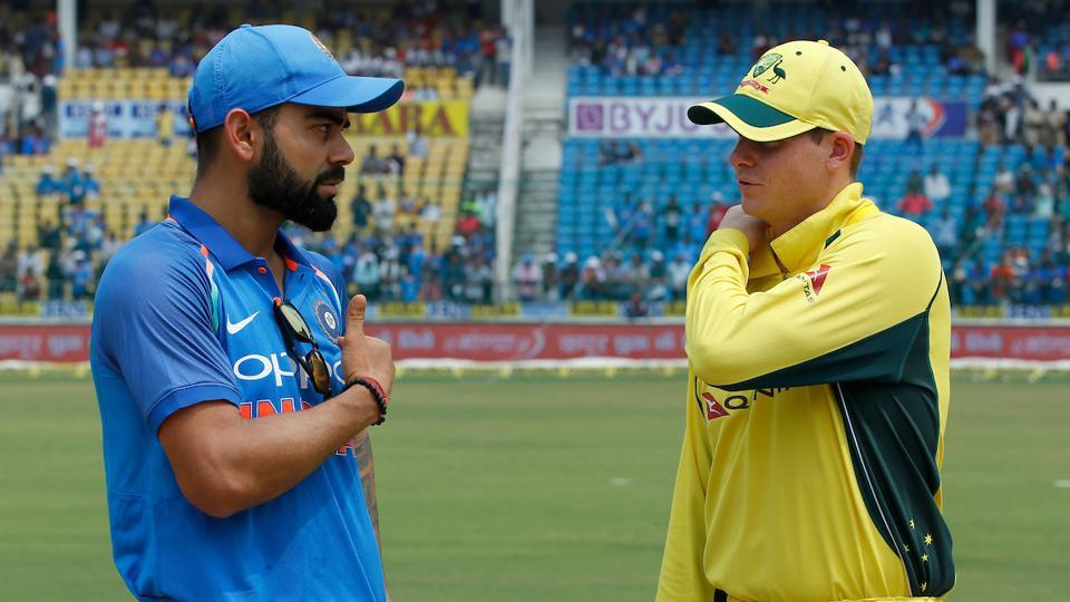 Australia captain Steve Smith won the toss and opted to bat.  (BCCI )