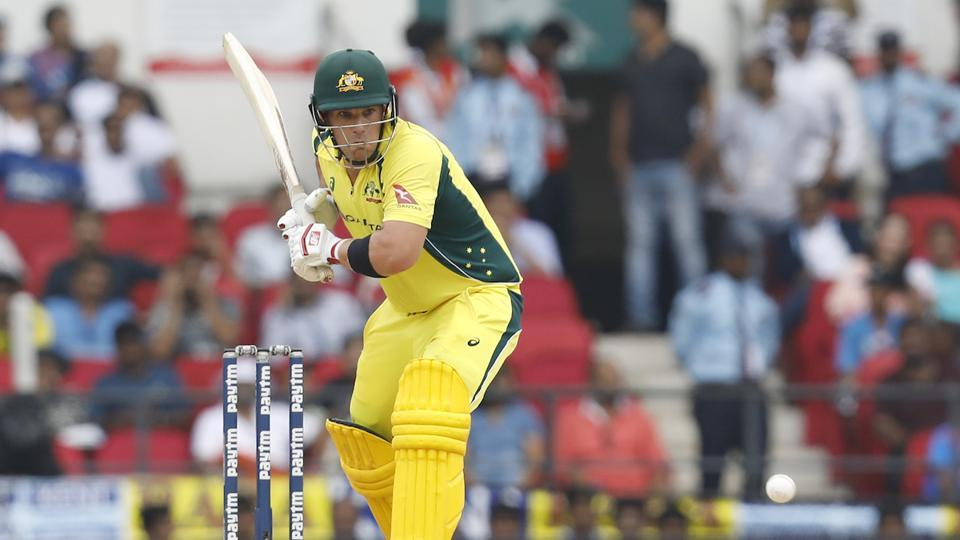 Aaron Finch supported Warner and the duo stitched together a fifty plus stand.   (BCCI )