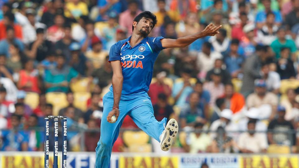 Jasprit Bumrah then took the wickets of Stoinis and Matthew Wade in quick succession as Australia could only manage 242/9.  (BCCI )