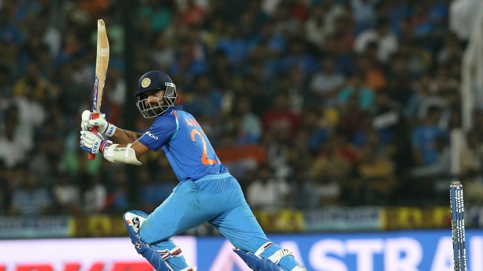 Both Rohit and Rahane registered fifties to put India on course for a big win.  (BCCI )