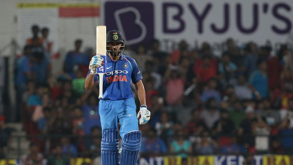 Rohit continued to pile on the runs and brought up his 14th ODI century.  (BCCI )
