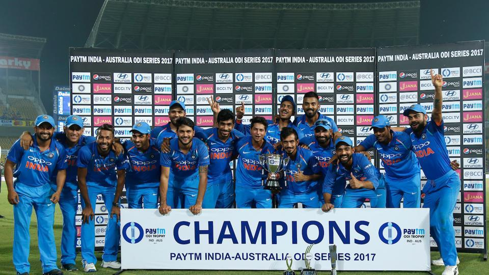 With this win, India regained their No. 1 ODI ranking after a momentary slip. The two teams will now play a three-T20 series, starting October 7.  (BCCI )