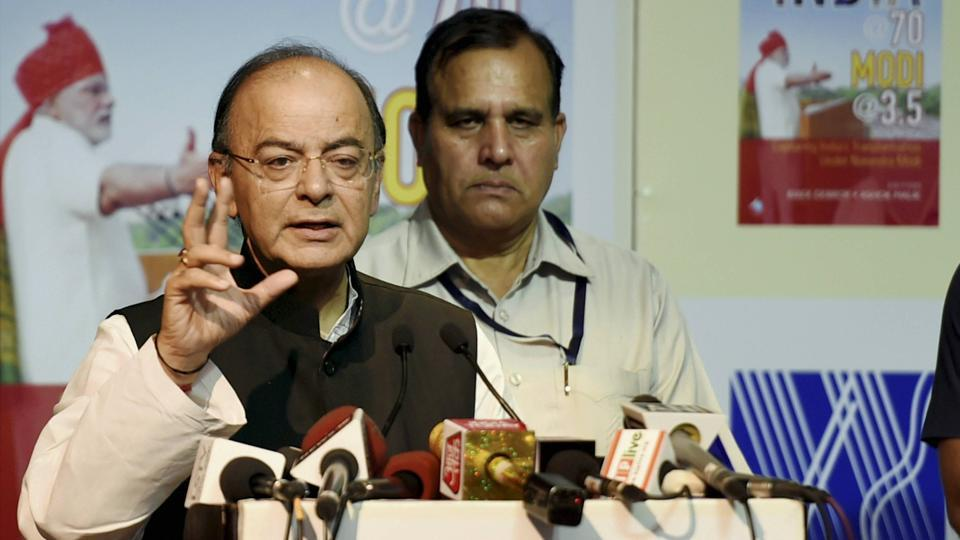 Finance minister Arun Jaitley said GST slabs may be reduced in future.