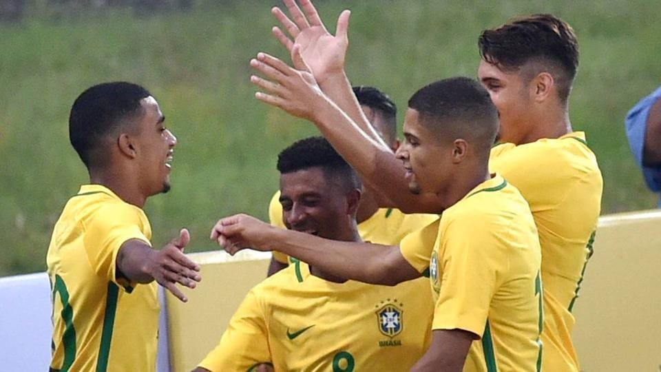 Brazil will begin their FIFA U-17 World Cup campaign against Spain in Kochi on October 7.