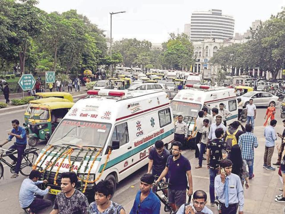 CATSambulance may also be used to transport pregnant women in Delhi.