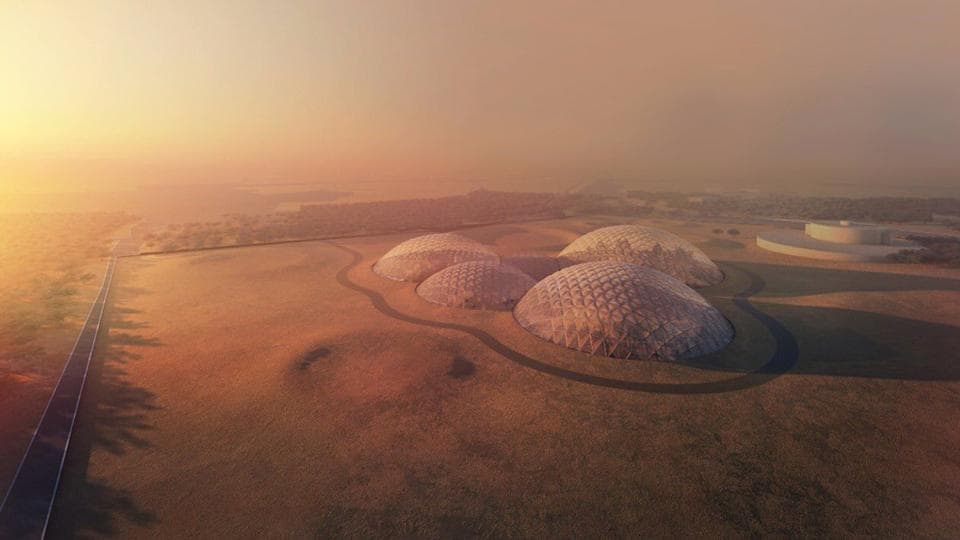 The project is part of the UAE's Mars 2117 strategy, which aims to build a settlement on Mars in the next 100 years.