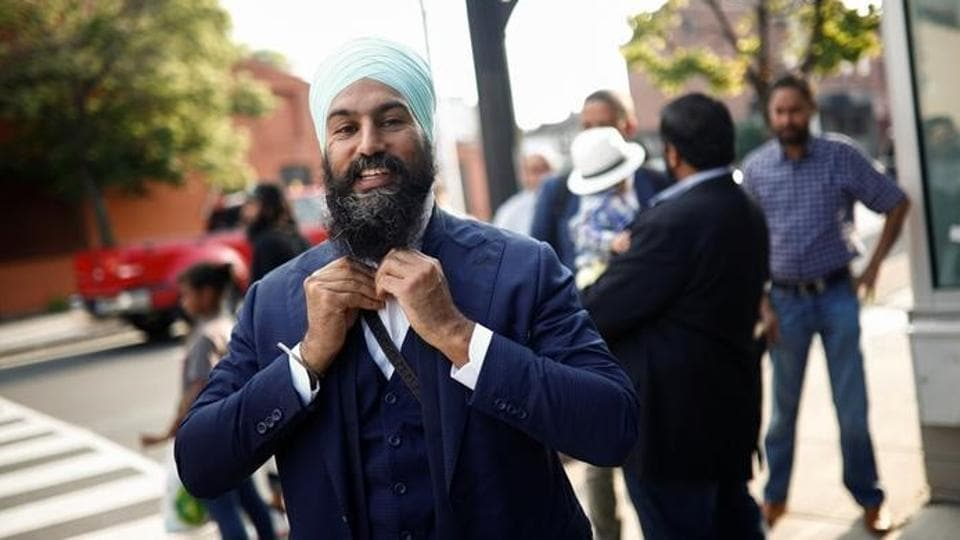Jagmeet Singh,Canadian elections,New Democratic Party of Canada