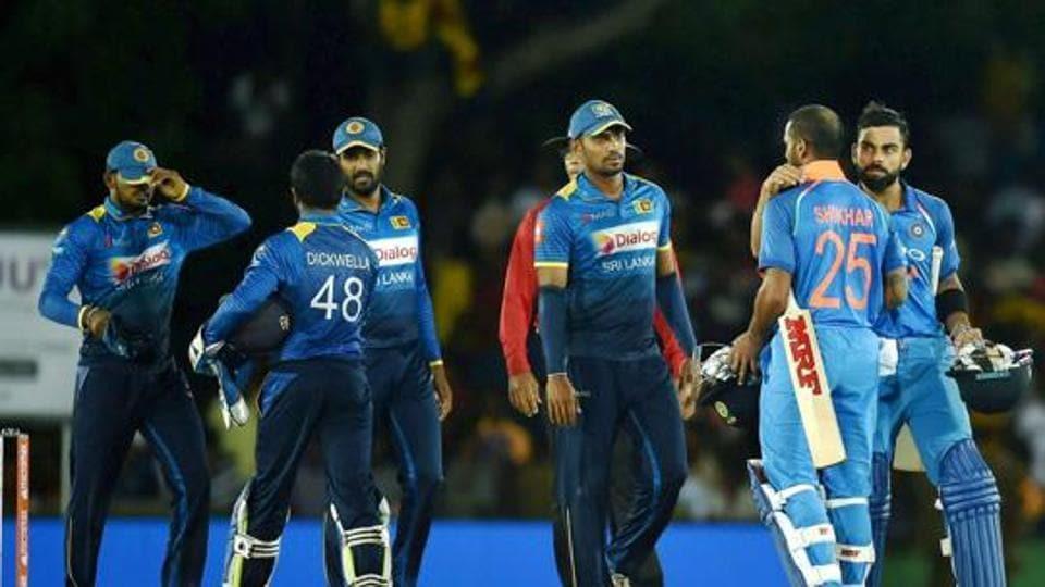 India vs Sri lanka 2017 schedule