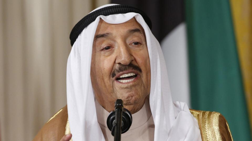 Kuwait's Emir Sheikh Sabah Al-Ahmad Al-Jaber Al-Sabah