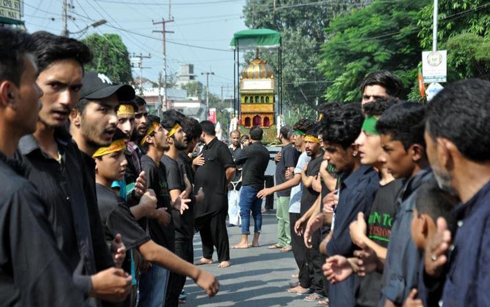 A Muharram procession.