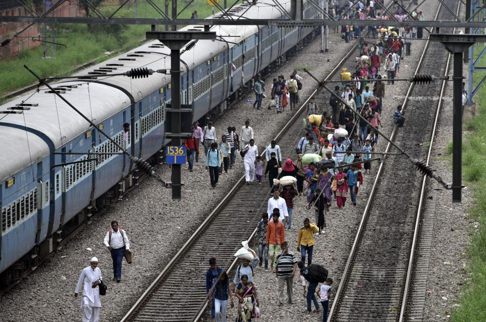 Railway accidents happen in our country with ferocious regularity and railway infrastructure is straining at the seams.