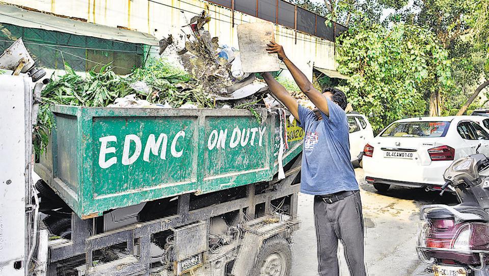 garbage segregation,NDMC,EDMC