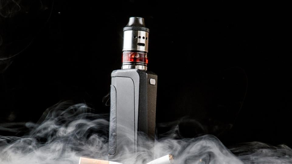Hypothesising that an e-cigarette carries only 5% of the health risk of the real McCoy, and that only a handful of people will still smoke tobacco by 2026, the researchers said 6.6 million premature deaths could be prevented by 2100