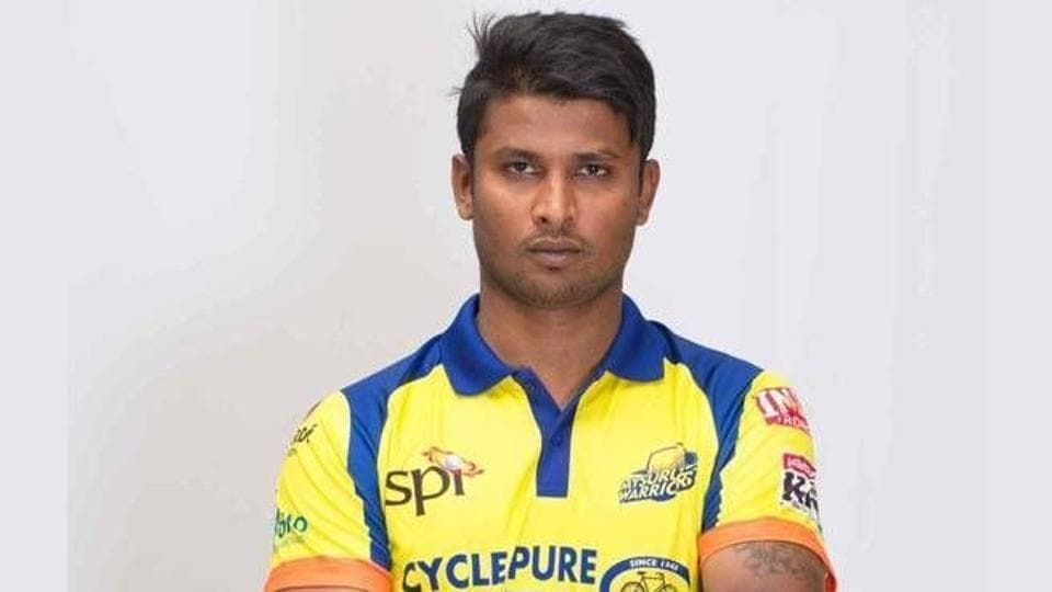 KGowtham left for Bengaluru after the Duleep Trophy match, claiming that he was down with typhoid but he played for Belagavi Panthers in the Karnataka Premier League.