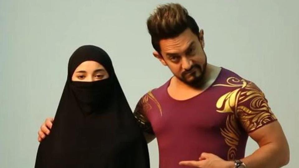 Aamir Khan,Zaira Wasim,Secret Superstar