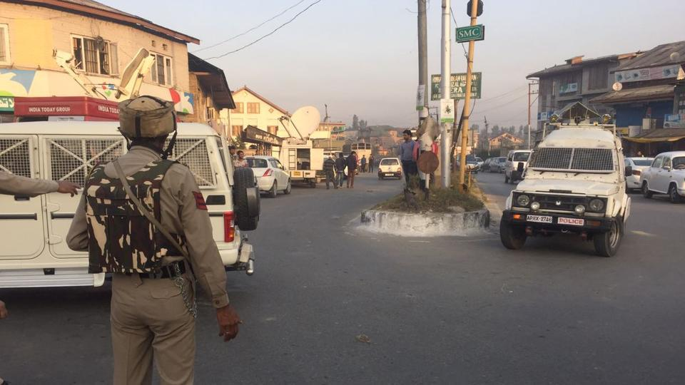 A BSF camp near the airport was attacked by militants in Srinagar.