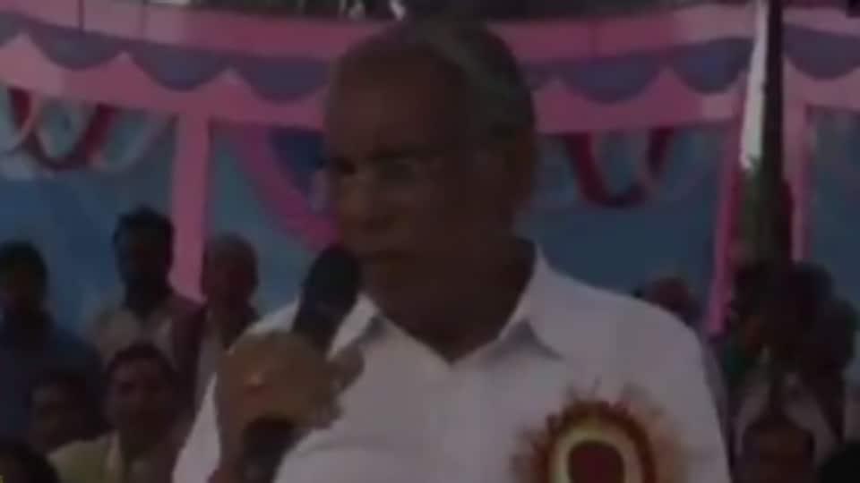 BJP MP Bansilal Mahto said Chhattisgarh women were becoming 'tan-a-tan'.