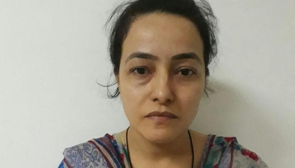 Honeypreet Insan, the adopted daughter of rape convict Dera Sacha Sauda chief Gurmeet Ram Rahim Singh, was arrested on Tuesday from a highway in Punjab more than a month after she went into hiding.
