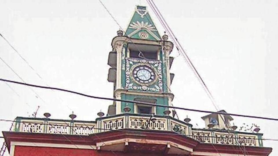 The Hoshiarpur clock tower was built in 1936.
