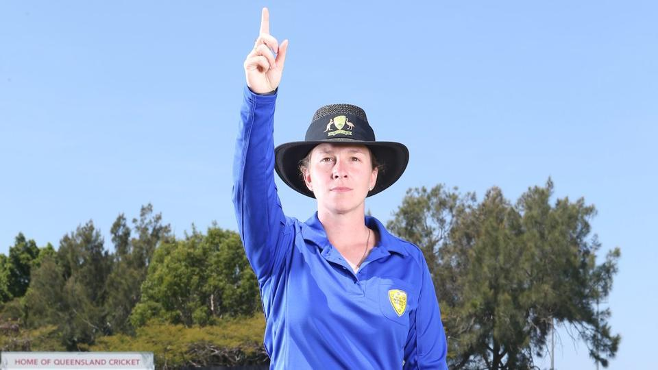 Claire Polosak will officiate a match between New South Wales and Cricket Australia XI.