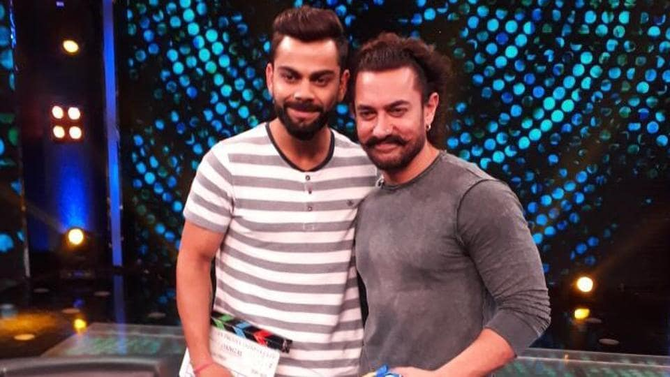 Indian cricket team captain Virat Kohli and Bollywood actor Aamir Khan have come together for a TV show, expected to be telecast during this year's Diwali. Kohli has said he was 'scared' of Sri Lankan pacer Lasith Malinga in the 2011 Cricket World Cup final in Mumbai.