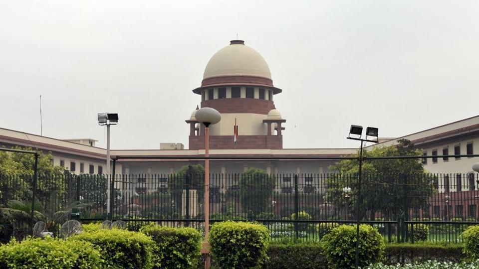 The Supreme Court of India in New Delhi.