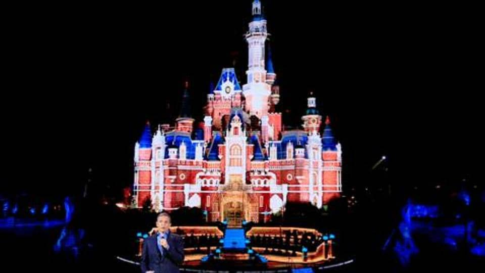 Disney's CEO Bob Iger holds a grand opening gala concert at Shanghai Disney Resort last year. There were rumours last year that Google, Salesforce and Walt Disney were in the race to buy Twitter.