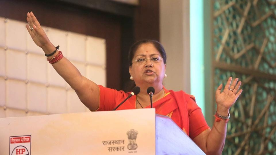 Chief minister Vasundhara Raje launched the party's election campaign on Wednesday with a three-day tour of the five assembly segments of the Ajmer parliamentary constituency.