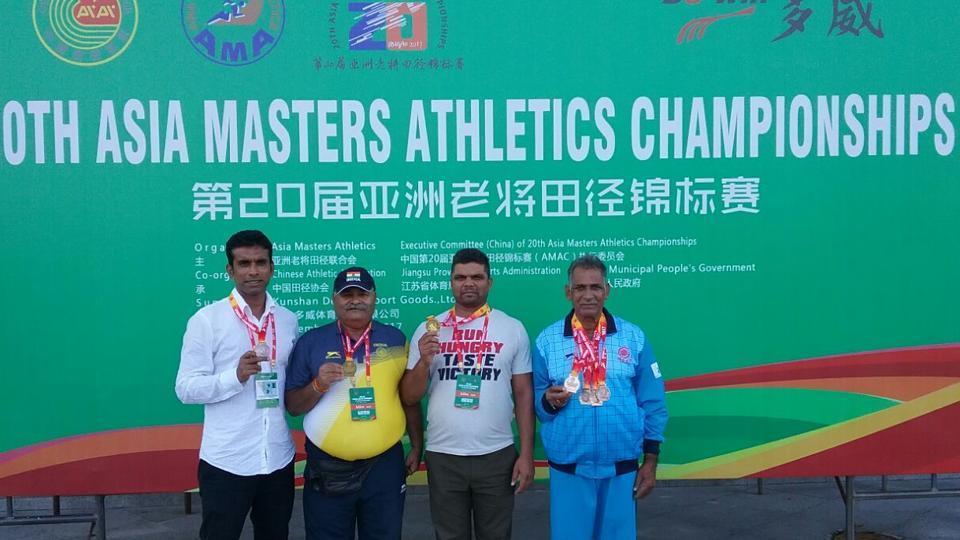 World Masters Athletics 2018,20th Asia Masters Athletics Championship,China