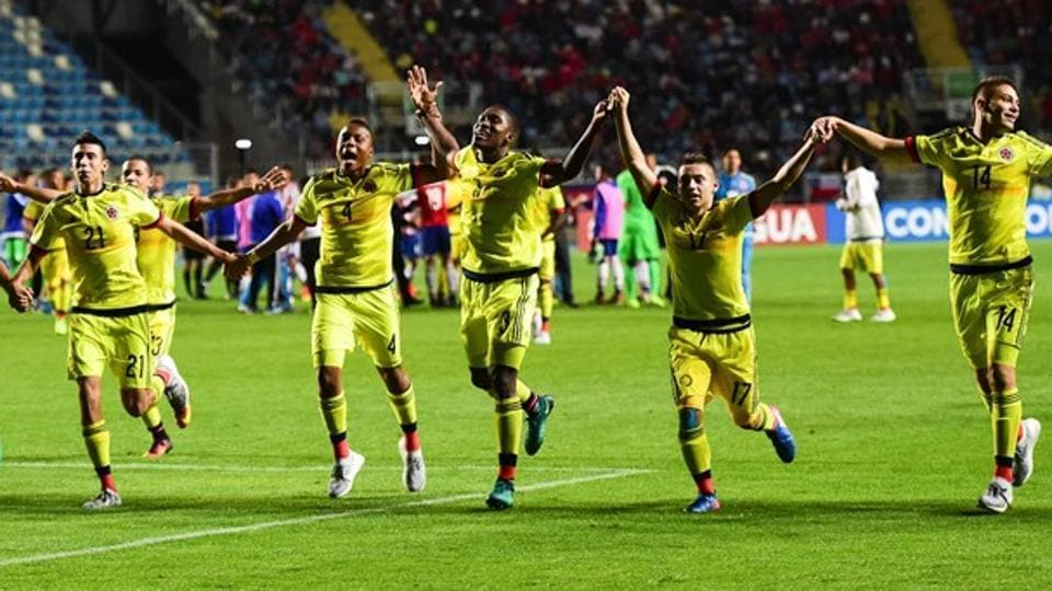 FIFA U-17 World Cup,FIFA U-17 World Cup 2017,Colombia national under-17 football team