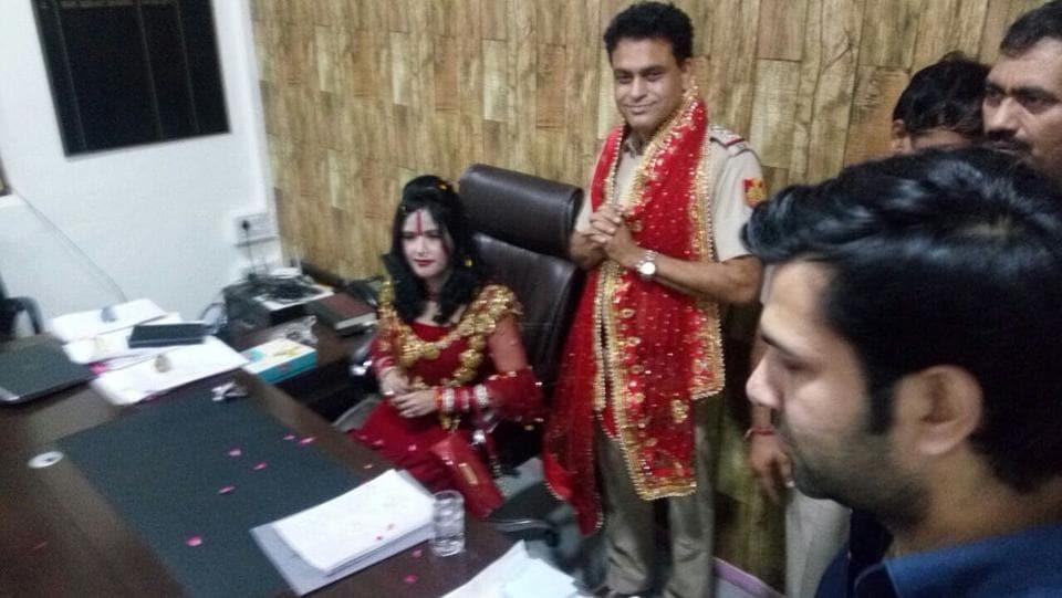 Radhey Ma,Vivek Vihar,Radhey Ma in police station