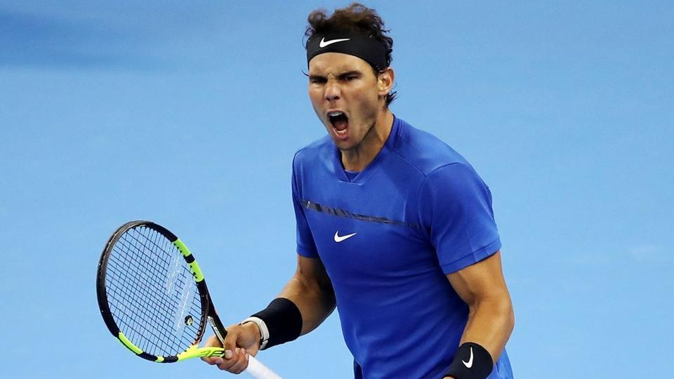 Rafael Nadal will take on John Isner in the China Open tennis quarter-finals.