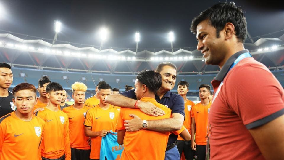 In the past few days, celebrities like  Virat Kohli, Akshay Kumar, Sunil Chhetri have poured in their best wishes for the Indian football team.  (AIFF )