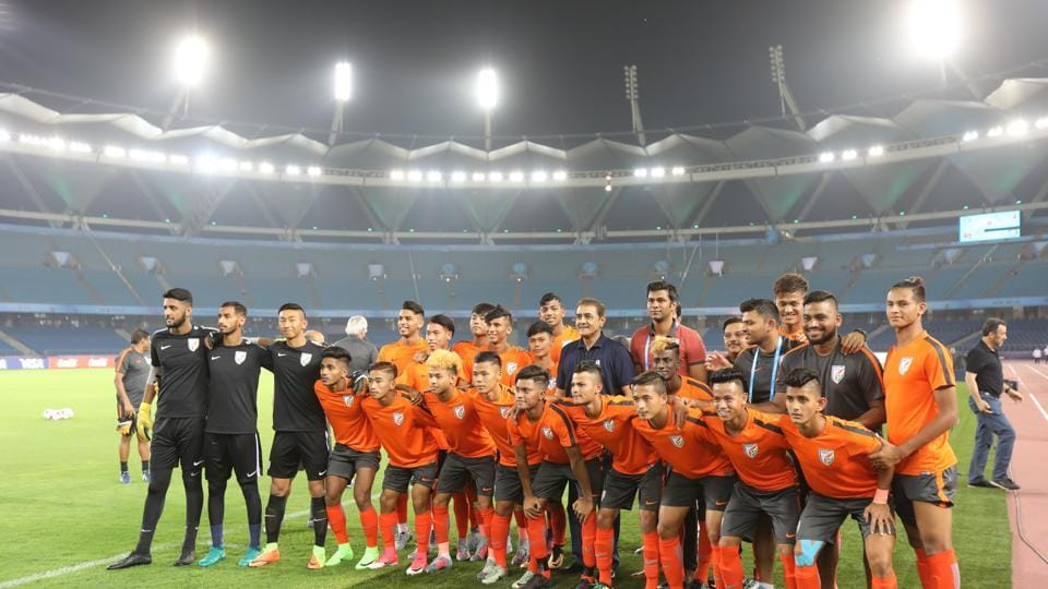 This is the first time India are taking part in the final round of any major FIFA tournament.  (AIFF )