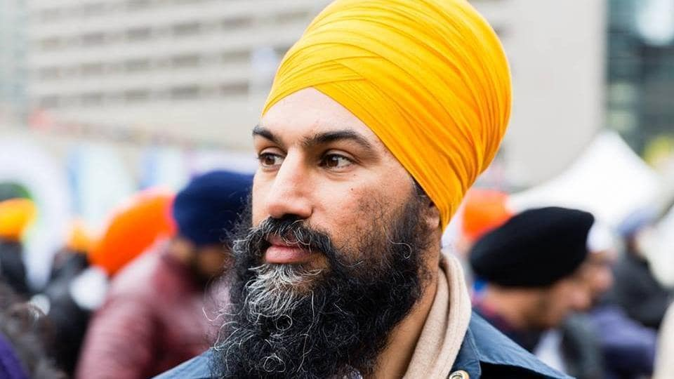 File photo of Canadian politician Jagmeet Singh, who is in the race to become the next chief of the New Democratic Party.